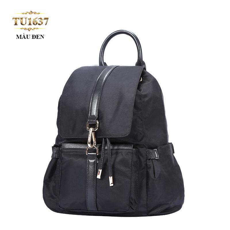 Balo du lịch túi xách cao cấp màu xanh thời trang TU1637 (Màu đen)