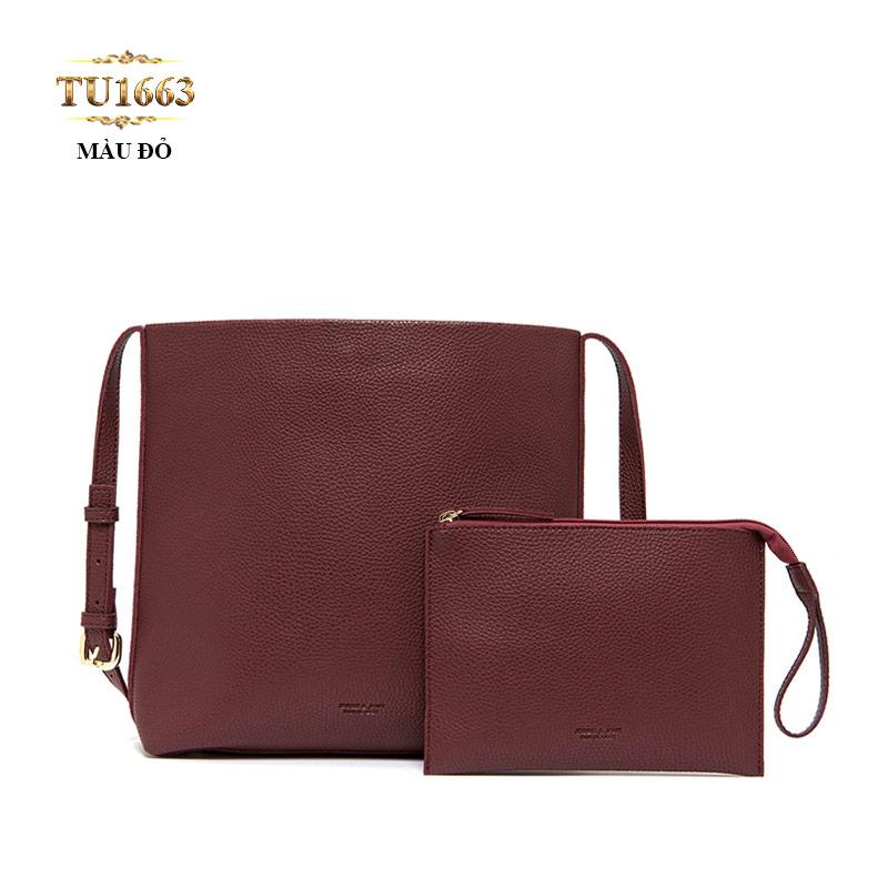 Set 2 túi xách JESSIE&JANE màu đỏ thời thượng TU1663