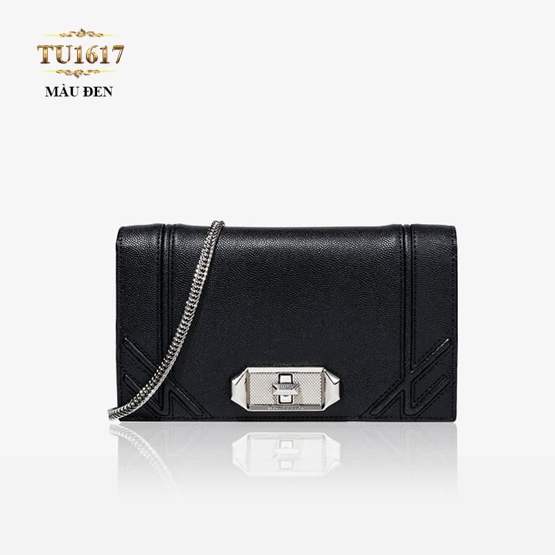 Thời trang túi xách hàng hiệu màu đen mang đến cho quý cô vẻ đẹp hoàn hảo TU1617