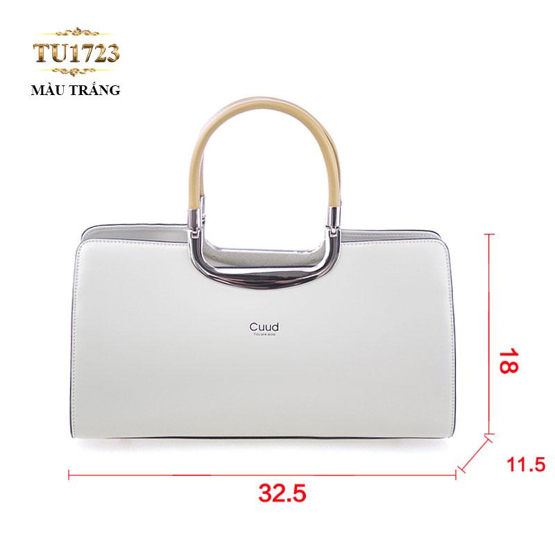 Túi xách Cuud cao cấp kiểu dáng thời trang (size nhỏ) TU1723 (Màu trắng)
