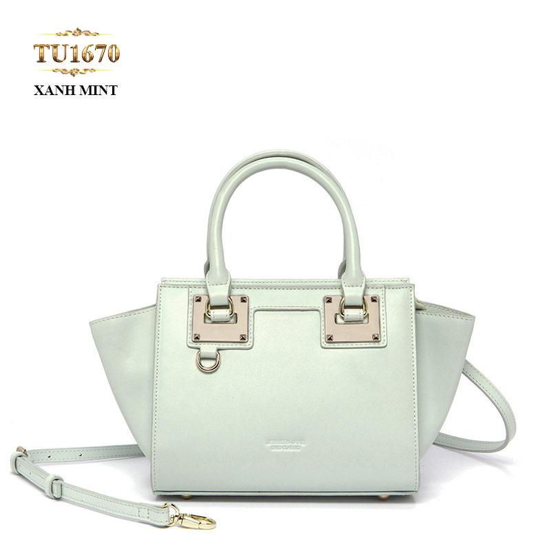 Khoảng gần 4 triệu đồng, nàng hoàn toàn có thể sở hữu chiếc túi xách hàng hiệu Jessie & Jane quai da cao cấp TU1670