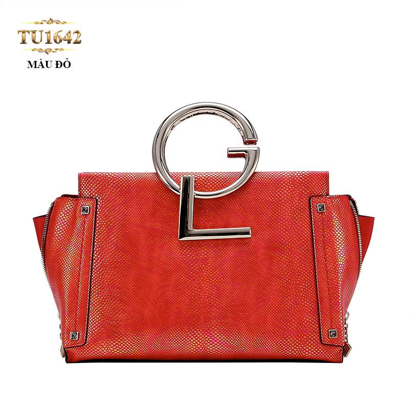 Túi xách GL cao cấp khóa hông thời trang TU1642 (Màu đỏ)